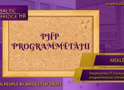 PHP PROGRAMMĒTĀJS